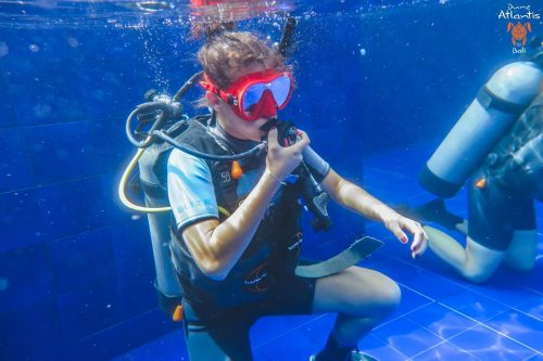 bali scuba diving course