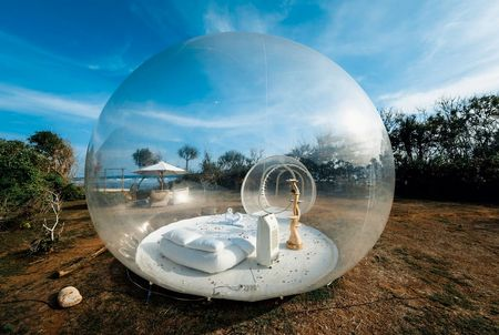 Bubble Hotel as the unique and dreamy hotel to stay in Bali