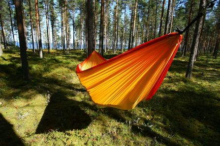 Best times to use portable double hammock